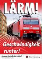 Lärm durch Eisenbahnverkehr  © Klaus Byte